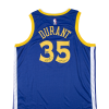 "Kevin Durant playera firmada Blue Golden State Warriors Edición Limitada a 135 piezas con inscripción ""DUB NATION"""
