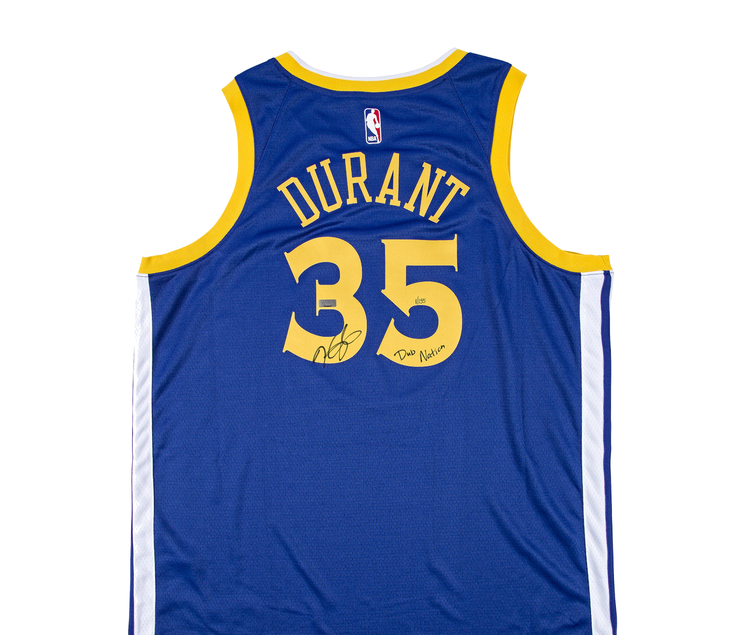 Share. Ídolos   Productos   Deportes   NBA   Golden State Warriors   Kevin  Durant playera firmada Blue Golden State Warriors Edición ... 550d1042eb4