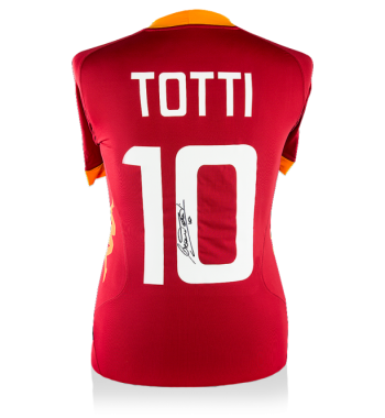 Francesco Totti playera firmada de la Roma local 745a8d17ccf