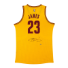 LeBron James playera firmada alternativa Cavaliers