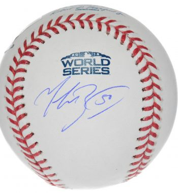Mookie Betts pelota firmada