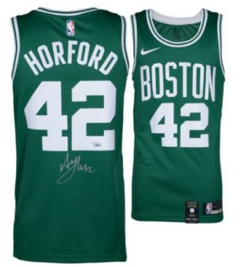 Al Horford de Boston Celtics playera firmada verde