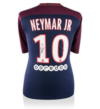 Neymar JR playera firmada del PSG de Local
